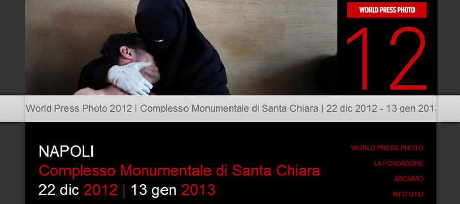 sito world press photo napoli 2012