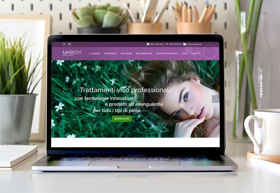 sito-centro-estetico-marispa-laptop