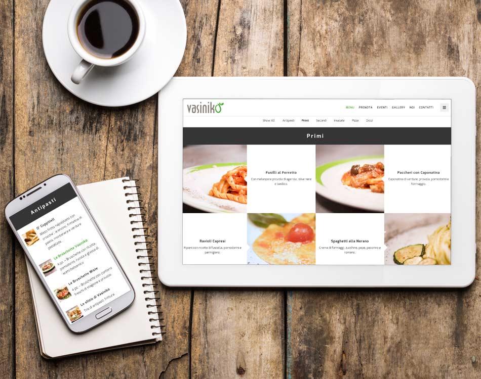 vasiniko sito responsivo smartphone tablet web agency