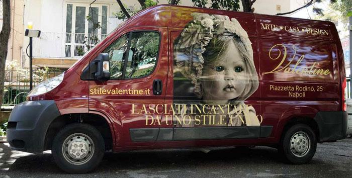personalizzazione furgoni napoli