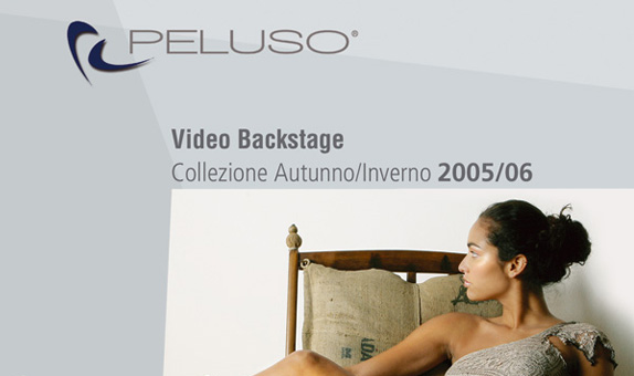 video backstage Peluso