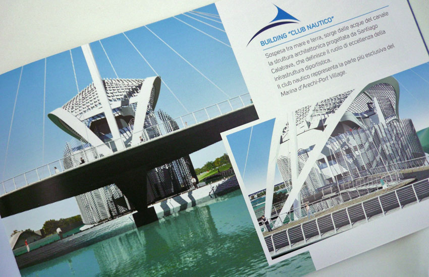 brochure porto turistico