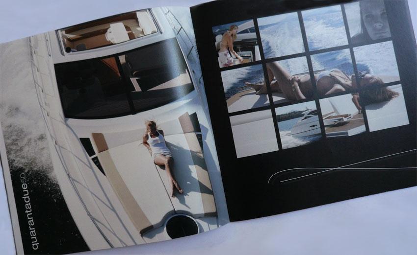 impaginazione brochure nautica