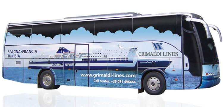 personalizzazione autobus