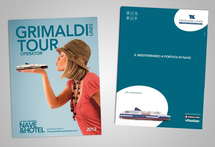 grafica cataloghi viaggi