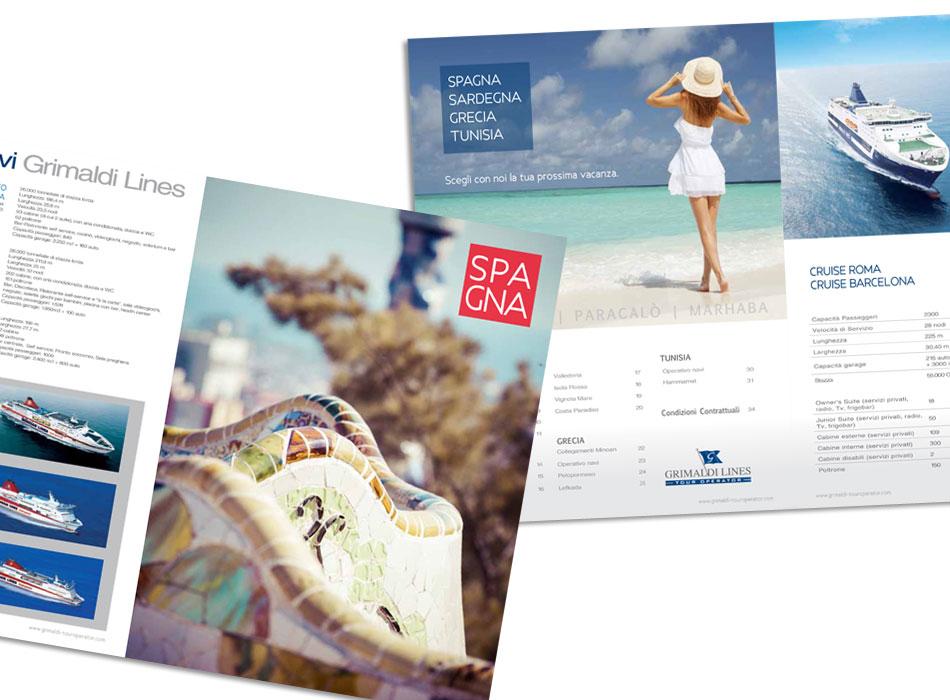 impaginazione cataloghi viaggi
