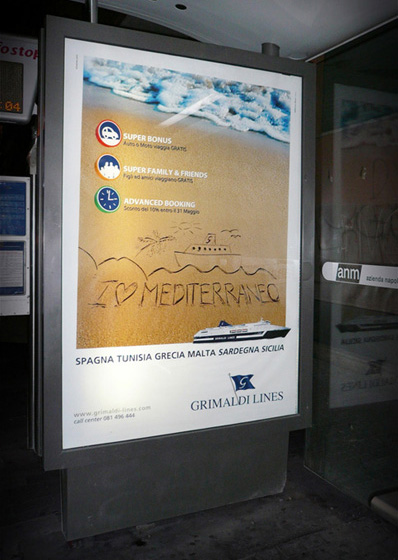 campagna grimaldi affissioni 2010