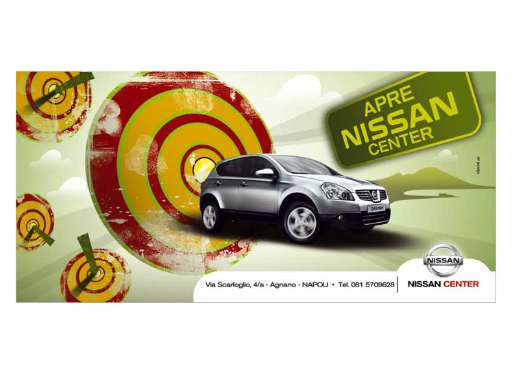 poster 6x3 nissan