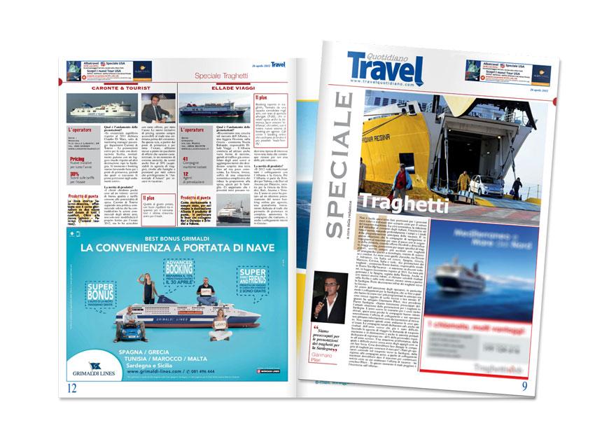 pagine pubblicitarie grimaldi 2012