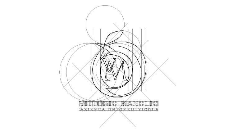 costruzione logo manolio