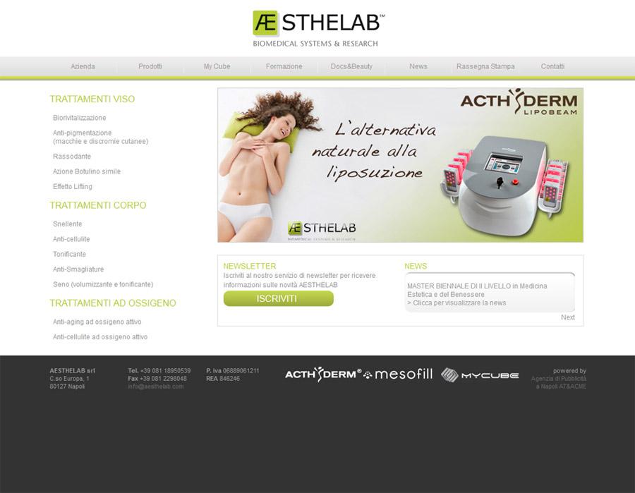 sito web aesthelab
