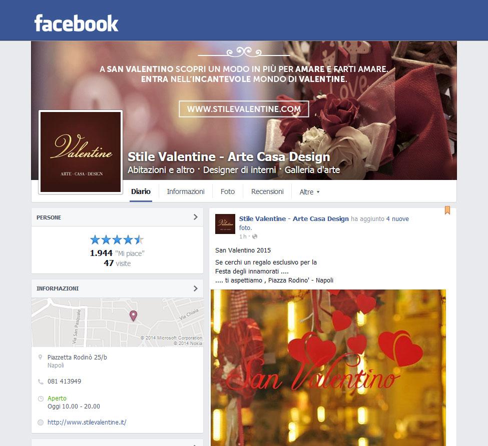 pagina fb valentine sanvalentino