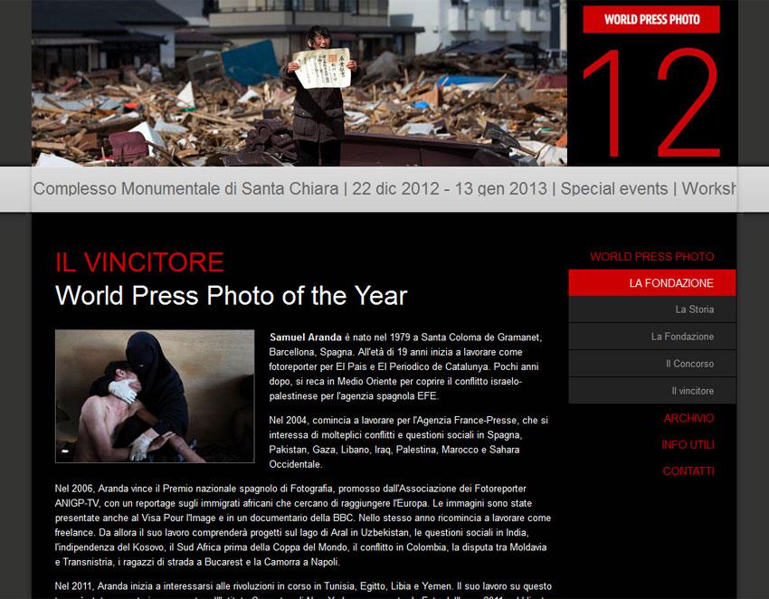 world press photo napoli 2012