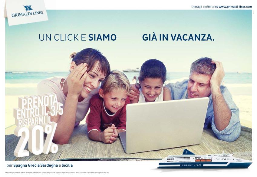 agenzia pubblicita napoli - annuncio grimaldi advanced 2015