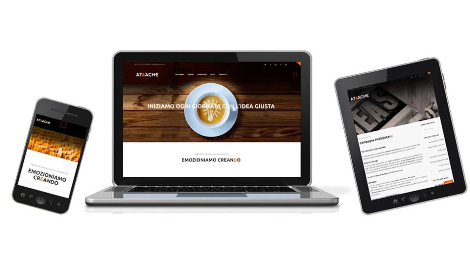 nuovo sito agenzia pubblicita napoli ateacme