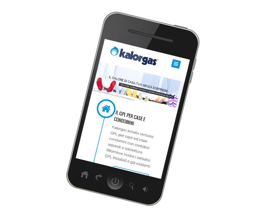 realizzazione siti per smartphone - kalorgas