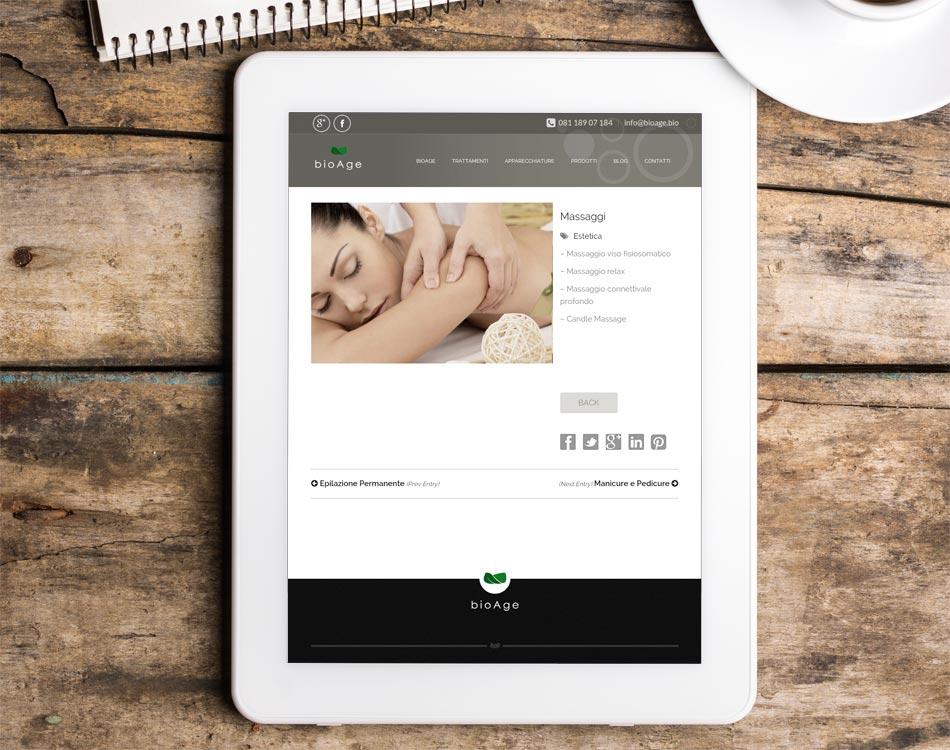 creazione siti responsivi tablet bioage