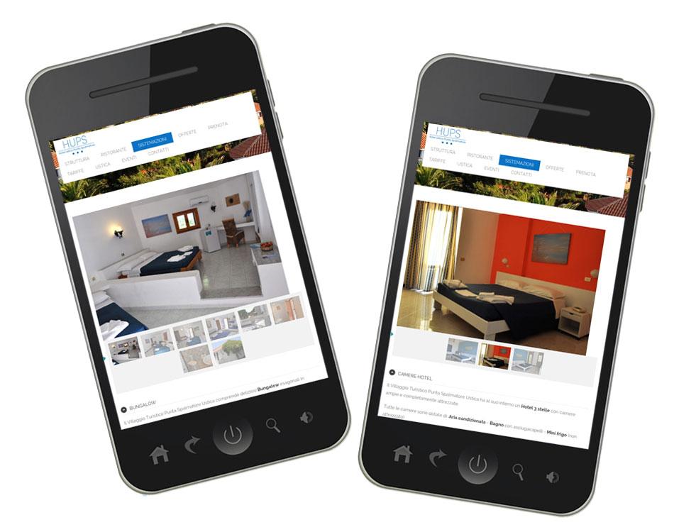 siti hotel villaggi per smartphone ateacme