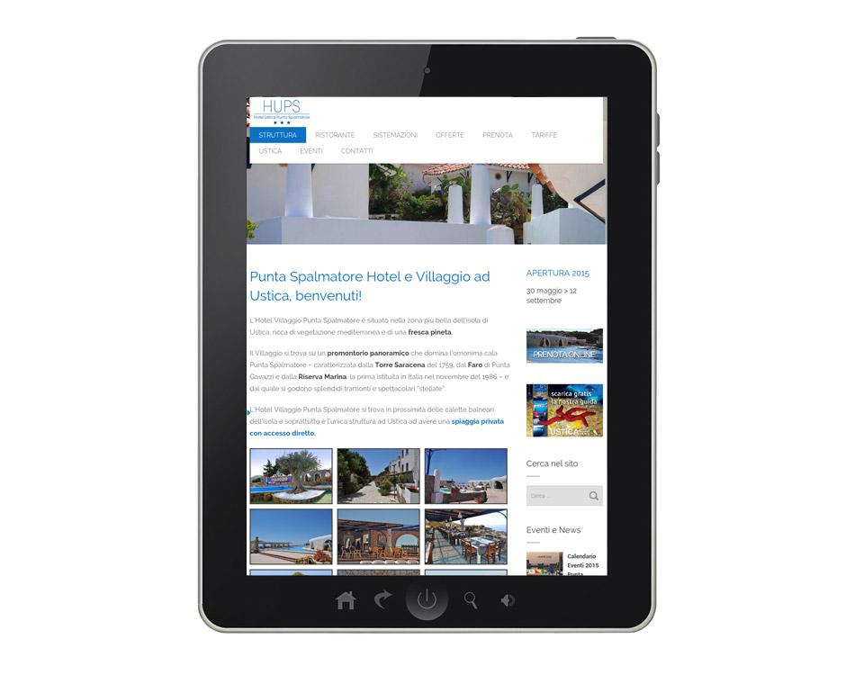siti hotel villaggi per tablet web agency ateacme napoli