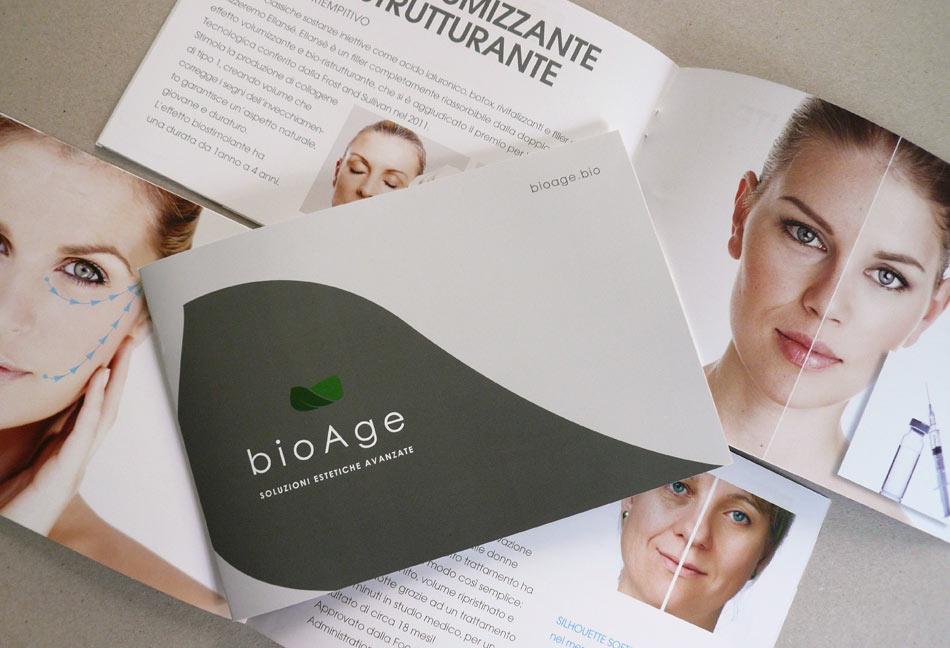 impaginazione brochure bioage