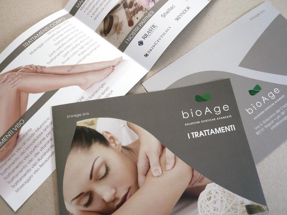 impaginazione e stampa listini bioage