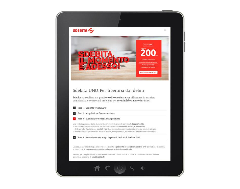 creazione siti web responsivi sdebita