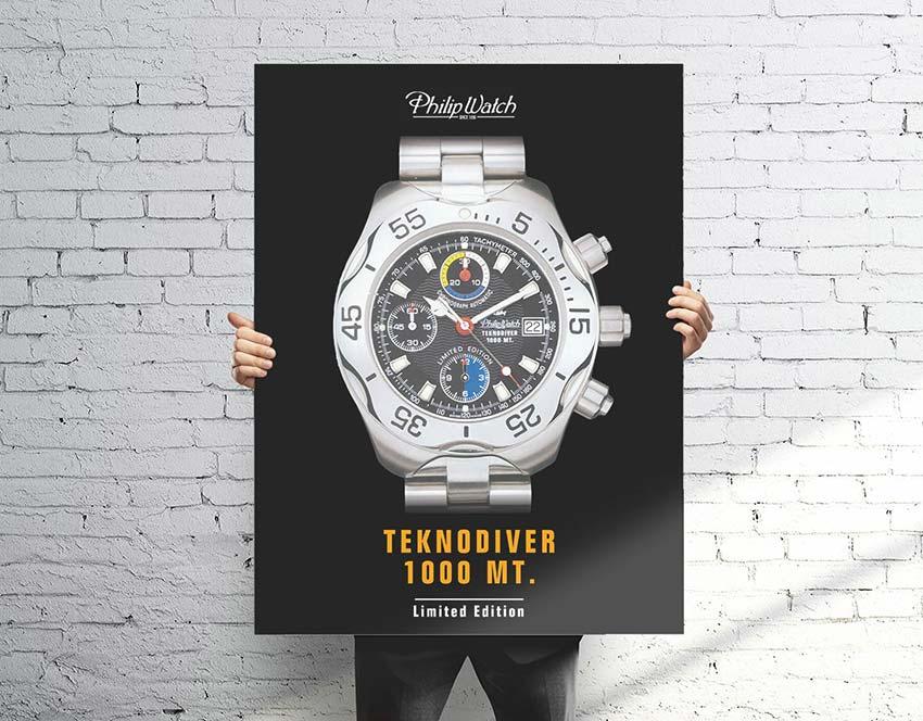 philip-watch-poster-teknodiver