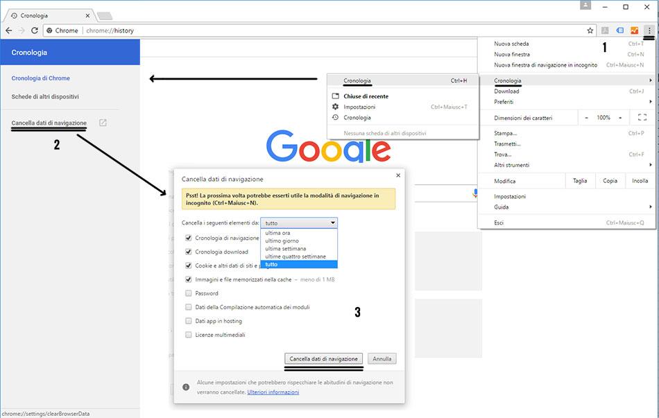 cancellare-cache-google-chrome