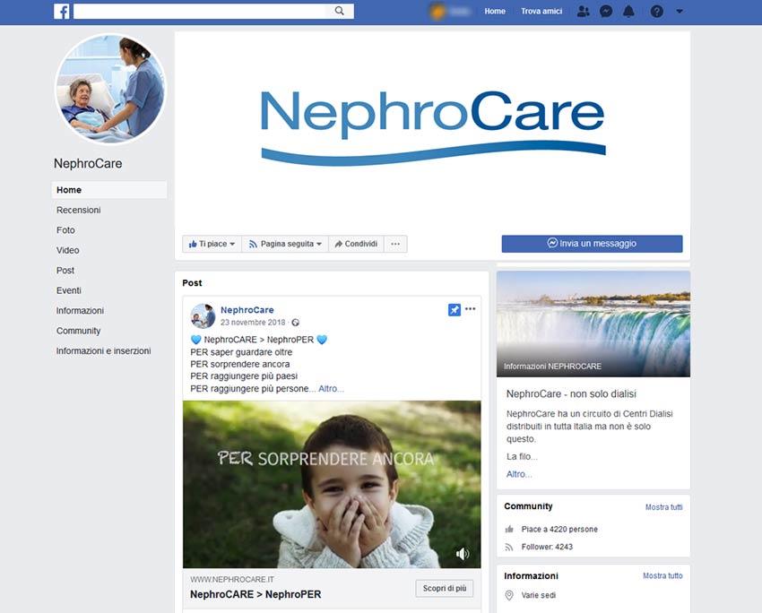 gestione-pagina-facebook-nephrocare-ateacme